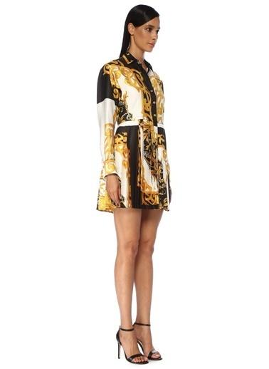Versace Elbise Renkli